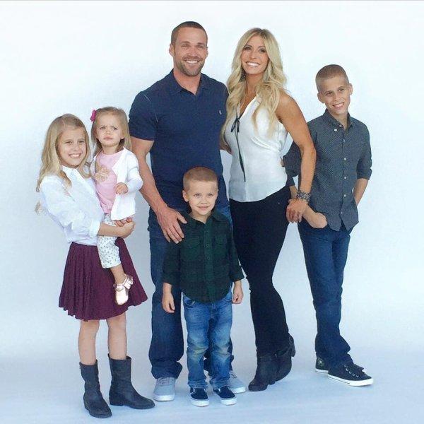 Chris Powell et sa famille :)