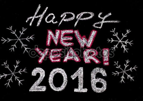 Bonne année et bonne santé 2016 ! :)