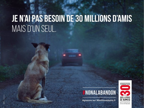 Campagne 2016 : 30 millions d'amis
