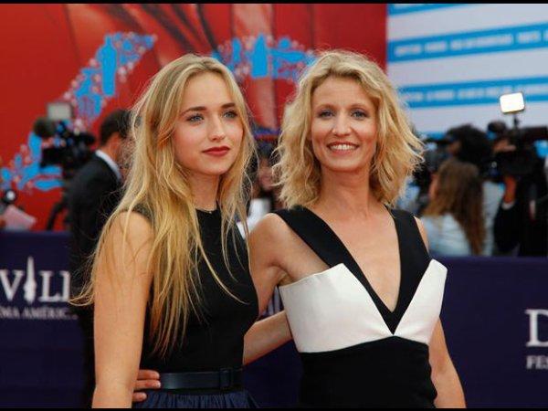 Alexandra Lamy et sa fille :)