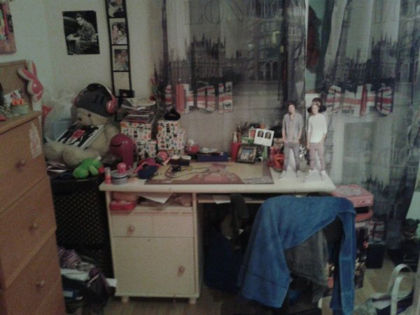 Ma chambre!!The directioner Room