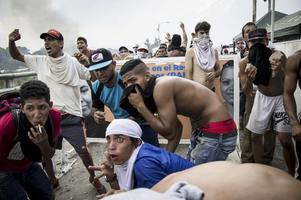 Cucuta, épicentre de la détresse des Vénézuéliens