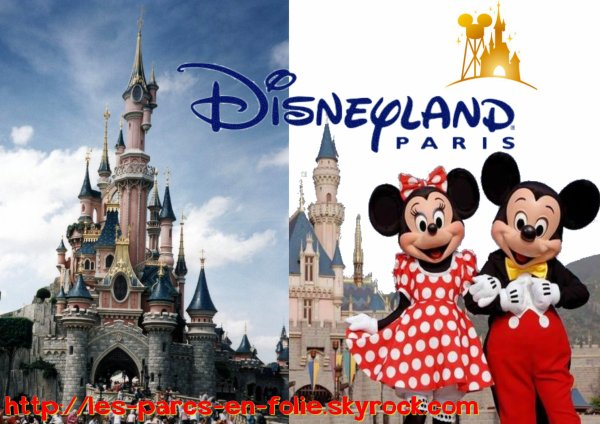 Premier parc : Disneyland Paris