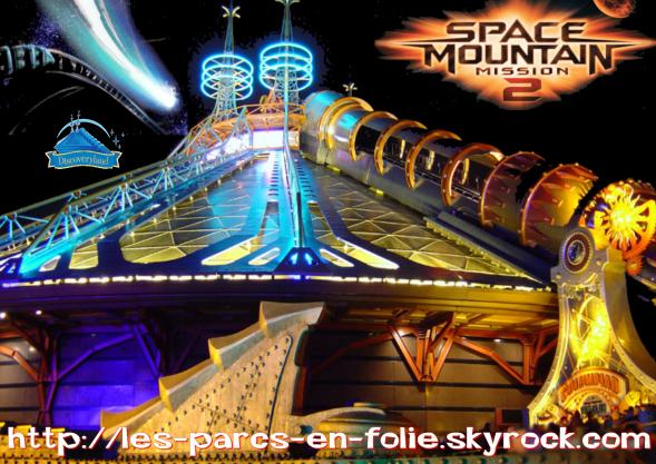 Disneyland Park : Discoveryland ==> Space Mountain Mission 2