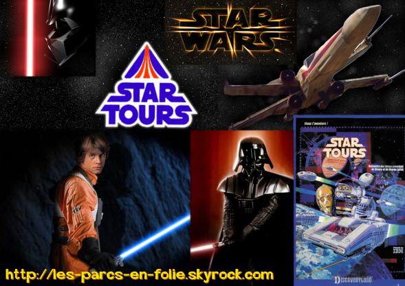 Disneyland Park : Discoveryland ==> Star Tours
