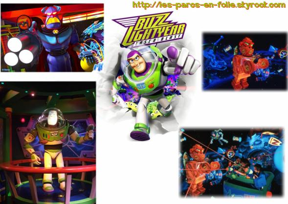 Disneyland Park : Discoveryland ==> Buzz Lightyear Laser Blast