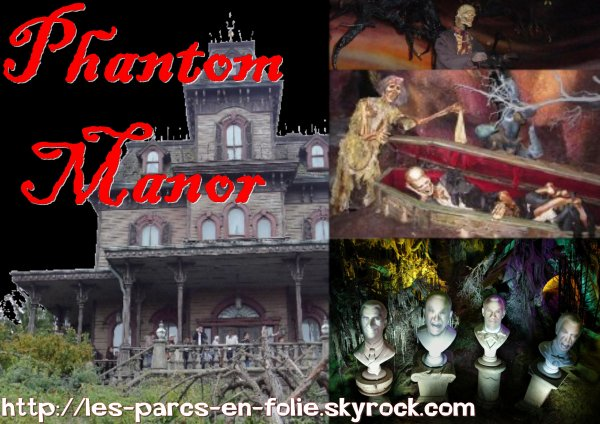 Disneyland Park : Frontierland ==> Phantom Manor