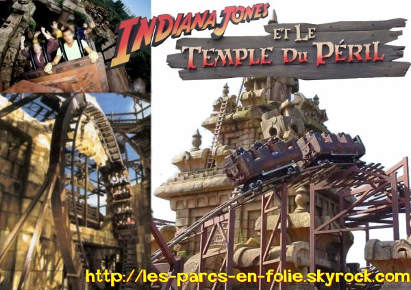 Disneyland Park : Adventureland ==> Indiana Jones et le Temple du Péril