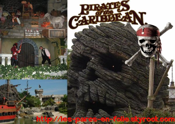 Disneyland Park : Adventureland ==> Pirates des Caraïbes