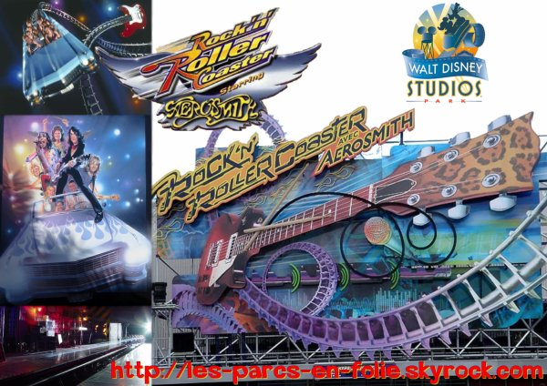 Parc Walt Disney Studios : Rock'n'Roller Coaster