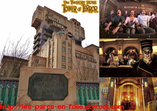 Parc Walt Disney Studios : La Tour de la Terreur