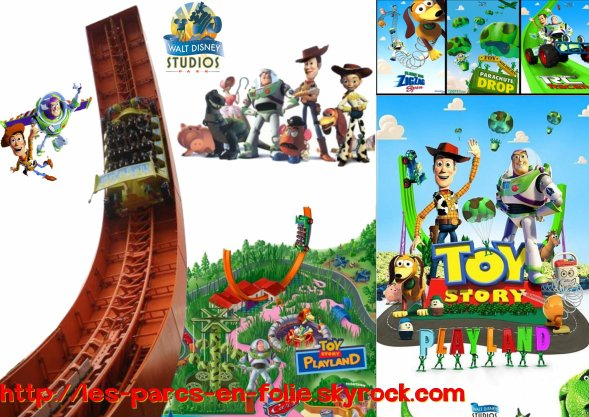 Parc Walt Disney Studio : Toy Story Playland