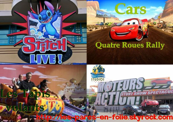 Parc Walt Disney Studios : Les autres attractions...