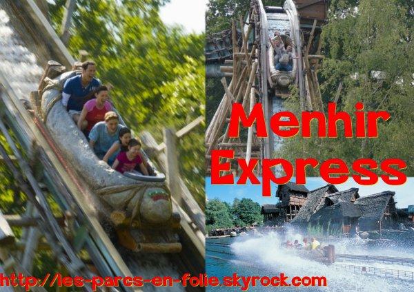 Parc Astérix : Menhir Express