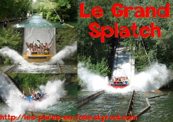 Parc Astérix : Le Grand Splatch