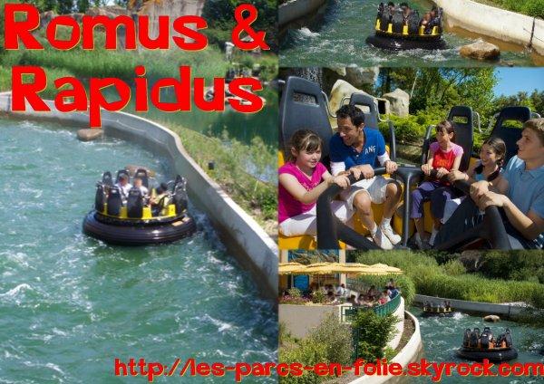 Parc Astérix : Romus et Rapidus