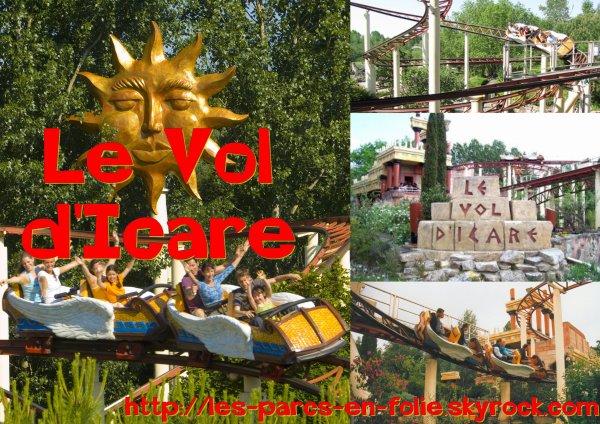 Parc Astérix : Le Vol d'Icare