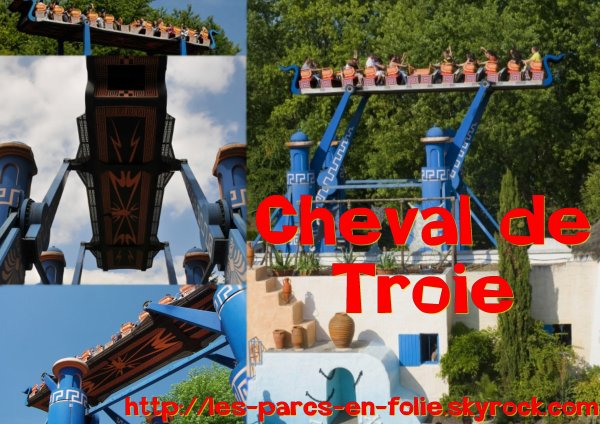 Parc Astérix : Le Cheval de Troie