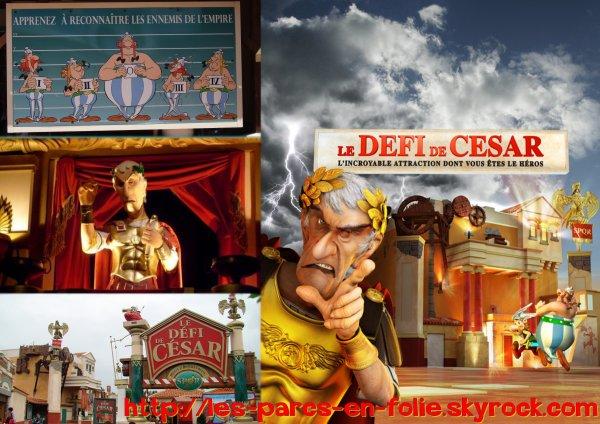 Parc Astérix : Le Défi de César