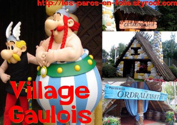Parc Astérix : le Village Gaulois