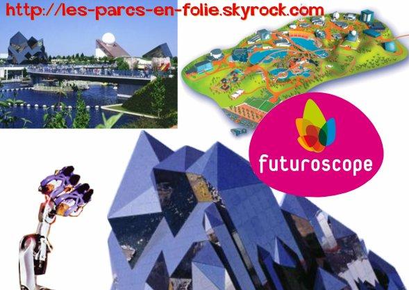 Troisième parc : le Futuroscope