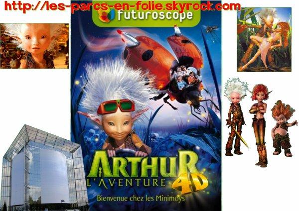 Futuroscope : Arthur, l'aventure 4D
