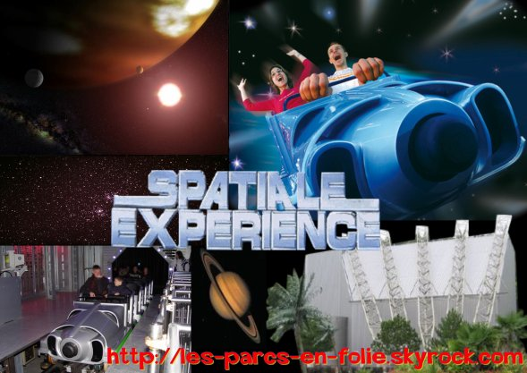 Nigloland : Spatiale Experience