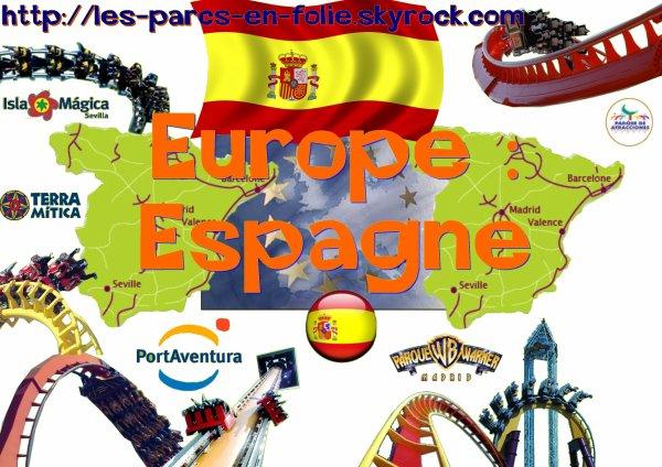 Continent n°1 : l'Europe. Pays n°2 : l'Espagne