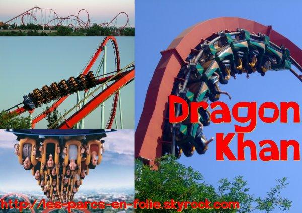 ♥ Port Aventura : Dragon Khan ♥