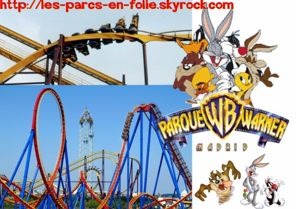 parc attraction warner madrid