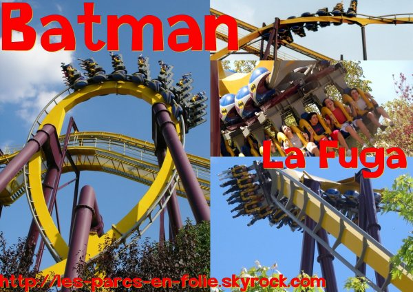 Parque Warner Madrid : Batman la Fuga