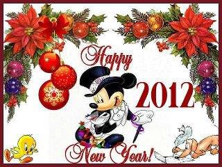 bonne année 2012 à tous bisous ;)