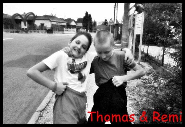 Remi et Thomas.......♥