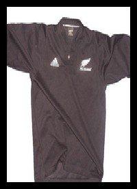 Les maillots des All Blacks
