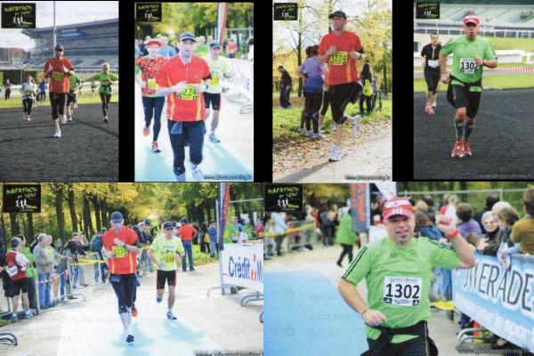 Marathon et semi de Vincennes le 30 octobre 2011
