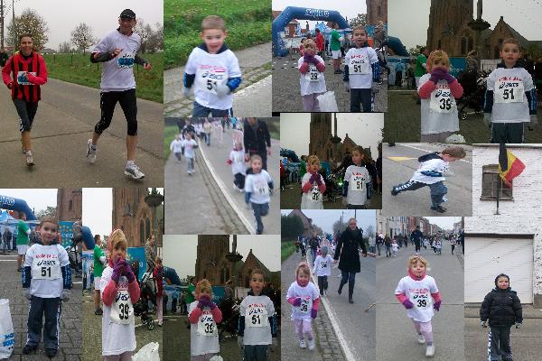 semi marathon en Belgique (Ploegsteert)(11/11/2011)