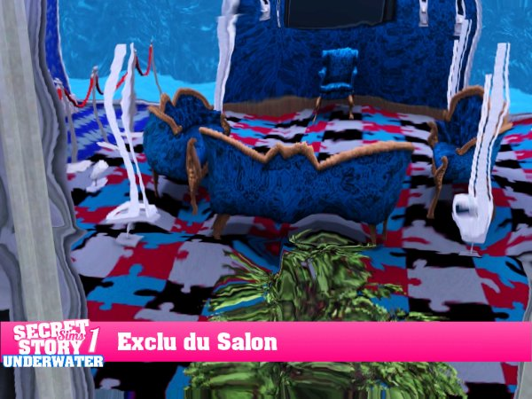 Secret Story Sims UnderWater Saison 1 : Exclu du Salon !