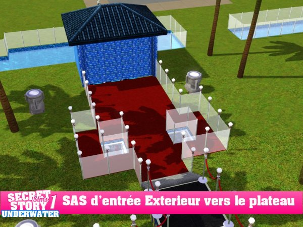 Secret Story Sims UbderWater Saison 1 : Prime 1 Part 1