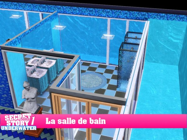 Secret Story Sims UnderWater Saison 1 Prime 1 part 2