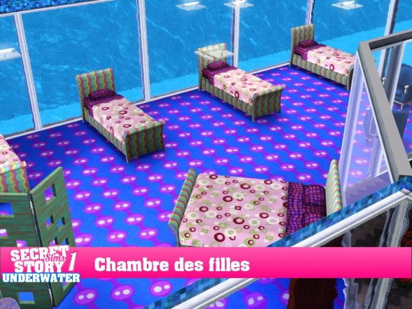 Secret Story Sims UnderWater Saison 1 Prime 1 part 2