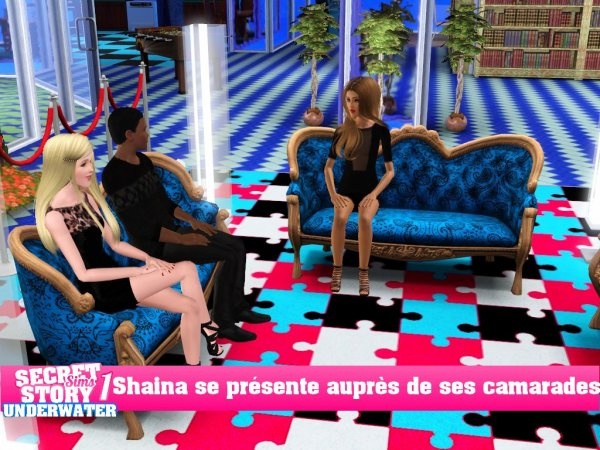 Secret Story Sims UnderWater Saison 1 Prime 1 part 4