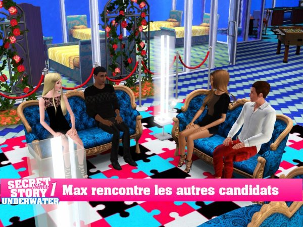 Secret Story Sims UnderWater Saison 1 Prime 1 part 5