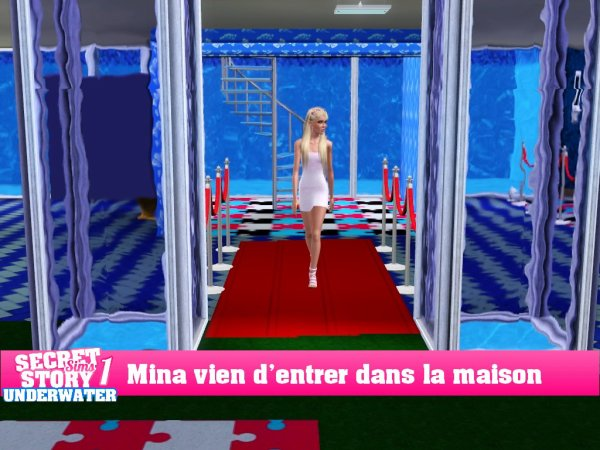 Secret Story Sims UnderWater Saison 1 Prime 1 part 6