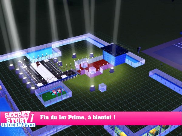Secret Story Sims UnderWater Saison 1 Prime 1 part 7