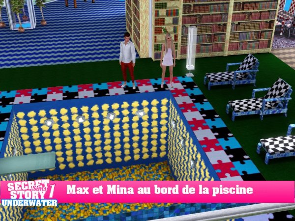 Secret Story Sims UnderWater Saison 1 After 1 part 2