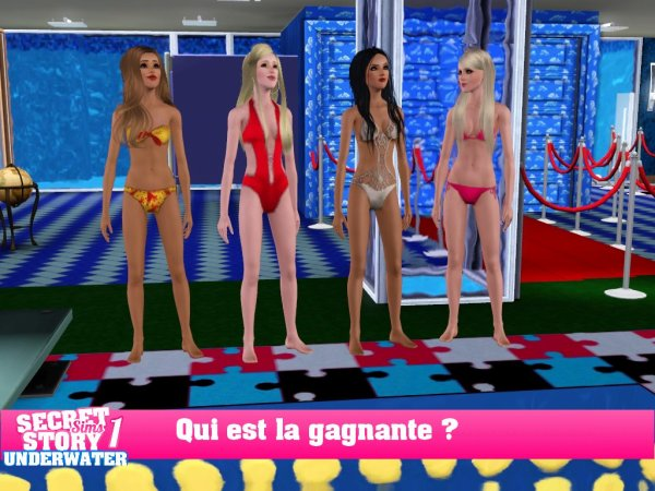 Secret Story Sims UnderWater Saison 1 : Quotidienne 2 Part 3