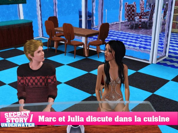 Secret Story Sims UnderWater Saison 1 Quotidienne 2 Part 4