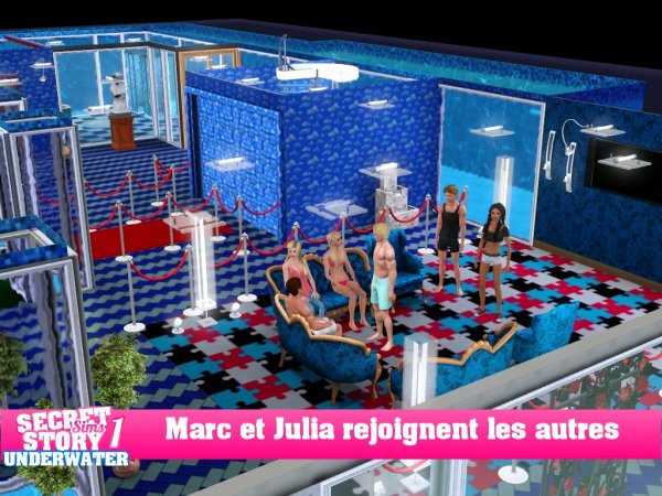 Secret Story Sims UnderWater Saison 1 Quotidienne 3 Part 3