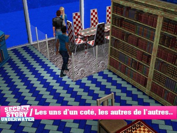 Secret Story Sims UnderWater Saison 1 Quotidienne 6 Part 1