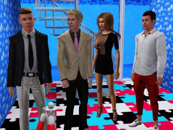 Secret Story Sims UnderWater Saison 1 Prime 3 part 3